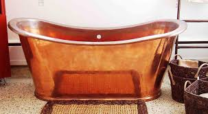 image of copper bathtub pros and cons