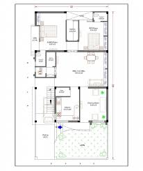 picture of house plan for 30 50 plot elegant south facing house plans vastu house