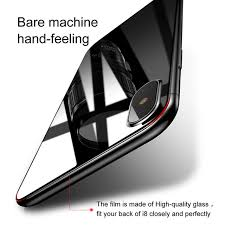 iphone x screen protector. baseus back cover tempered glass film for iphone x screen protector ultra thin 0.3mm r