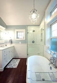 chandelier in small bathroom alluring small crystal chandelier for bathroom with top best bathroom chandelier ideas