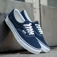 vans mens shoes. vans era navy canvas sneaker classic in navy. excellent summer shoe mens shoes
