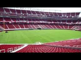 San Francisco 49ers Seating Chart 3d Sf 49ers New Home Levis Stadium First Look