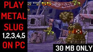 How To Download & Play Metal Slug X (& <b>1,2</b>,<b>3,4</b>,<b>5</b>) On <b>PC</b> (30 MB ...