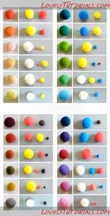 Fondant Colors Chart Color Charts Awesome Help To Find The Right Color For Your