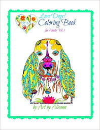 amazon love dogs coloring book for s volume 1 9781514355381 alisann smookler books