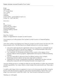 Account Executive Cover Letter Samples Executive Cover Letter Samples Pohlazeniduse
