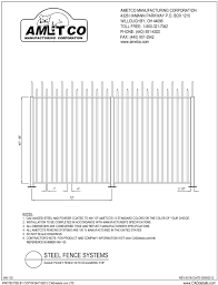 picket fence drawing. EAGLE (Staggard Top). Picket Fence Drawing O