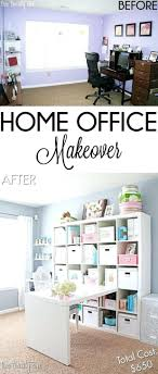 ikea office organization. Medium Image For Budget Home Office Makeover A Desk Top And An Ikea Storage Unit Are Organization Y