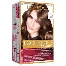 paris excellence hair color 5 light brown
