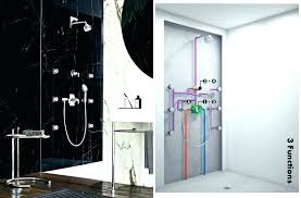 multiple shower head system kohler delta systems installation multiple shower head systems multiple shower head