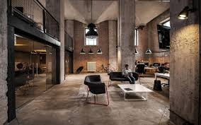 ... Trendy Modern Industrial Office Design Industrial Office Interior  Decor: Large Size ...