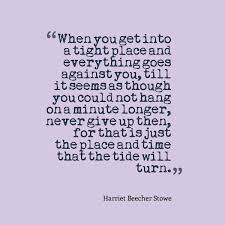 Harriet Beecher Stowe Quotes Stunning Harriet Beecher Stowe Quote About Never Giving Up Awesome Quotes