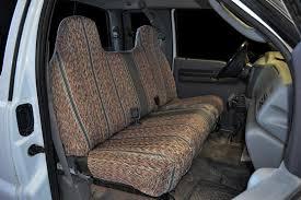 1995 2007 ford f 150 f 250 f 350 bench custom fit grey saddleblanket seat covers