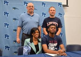 Patriot Press | Felix Lawrence, Track & Field at Liberty