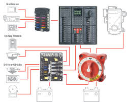 systems gallery blue sea systems battery management circuit protection and switching subsystem