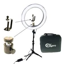 Studio Ring Light Uk Details About Studio 45cm 300w Led Ring Light Stand Photo Video Makeup Beauty With Mount Kit