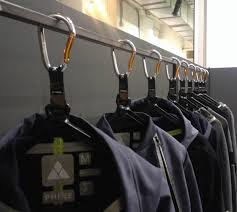 Carabiner Coat Rack 100 Ways to Use Carabiners Someday I'll Learn 2