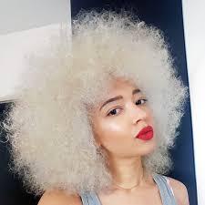 Décolorer Ses Cheveux Afro Naturels En Blond Platine Je
