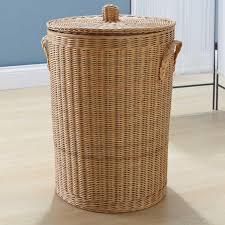 16 classic natural rattan laundry basket