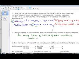 Identification - By A Mass Compound Youtube Relationships Of