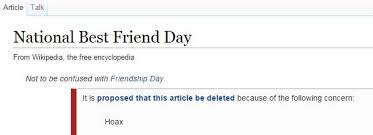 National Best Friend Day and the birth of the hoax #hashtag holiday ...