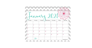 Then keep scrolling and check out these free printable calendars that you can download instantly! Cute Printable 2021 Calendar For Free Keeping Life Sane