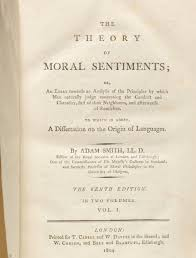 theory of moral sentiments adam smith bauman rare books