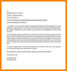 appreciation letter to employee sample appreciation letter to employees