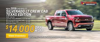 New Chevy Truck & SUV Specials - Lone Star Chevrolet