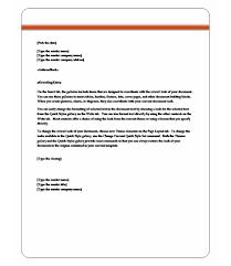 Letter Templates For Word Under Fontanacountryinn Com