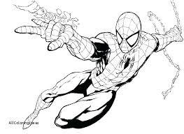 Spiderman Coloring Sheet Militarious Co