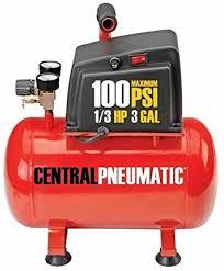 Amazon.com: 3 Gallon 100 PSI 1/3 HP Oilless Electric Portable Air Compressor:  Home Improvement