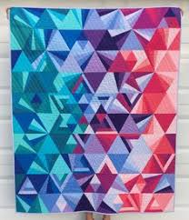 Tessellation by Jen Van Orman, quilted by Kaylene Perry. Pattern ... & Tesselations pattern by Nydia Kehnle and Alison Glass, on  QuiltWithLove.com, by Jessica Adamdwight.com