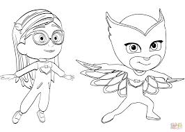 Pj Masks Colorings Pinterest Mask Colouring Owlette Gekko Mobile