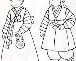Small Picture Asking For A Coloring Page For South Korea This Is Of A Boy And