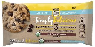 nestle toll house launches top allergen free simply delicious morsels organic chocolate chips