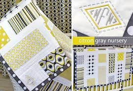 Michael Miller Fabrics' Citron-Gray Nursery: Patchwork Baby Quilt ... & Click to Enlarge. The gateway drug of quilting is the baby quilt tutorial. Adamdwight.com