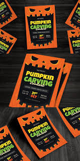 Pumpkin Carving Contest Flyers Pumpkin Carving Contest Flyer Print Templates Print Templates