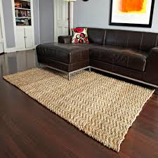 seagrass rugs plus black leather sofa on wooden floor for living room decoration ideas stark sisal outdoor bamboo rug woven jute natural fiber area hemp