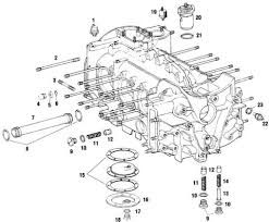 porsche engine crankcase case parts and component pieces case components