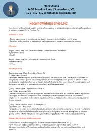 Protocol Officer Sample Resume Best Solutions Of Quality Control Officer Resume Sample With 3