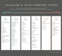 Acid Alkaline Water Chart Alkaline Acid Chart To Be Magnetic Manifest The Life