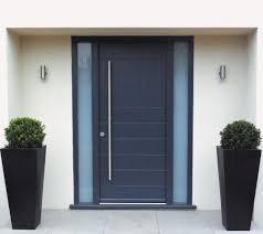 modern door handles long