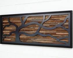 wood wall art made of old barnwood and natural by carpentercraig on wall art metal wood with wood wall art made of old barnwood and steel different sizes