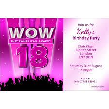 18th birthday party invitations for best party invitation template in this year 24