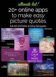 Best Quote Maker App Simple 48 EASY Ways To Make Picture Quotes Online Creativity Blogging