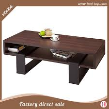 nesting wood modern coffee table for living room furniture