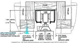 fixing a pocket door how to fix pocket door repair pocket door how to remove a