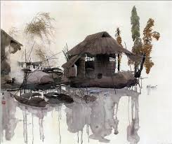Китайская живопись изобразительное искусство и техника рисования  Китайская живопись философия