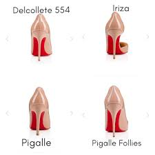 Christian Louboutin Heel Height Chart How To Buy Wear Louboutins A Guide For The Red Sole Virgin